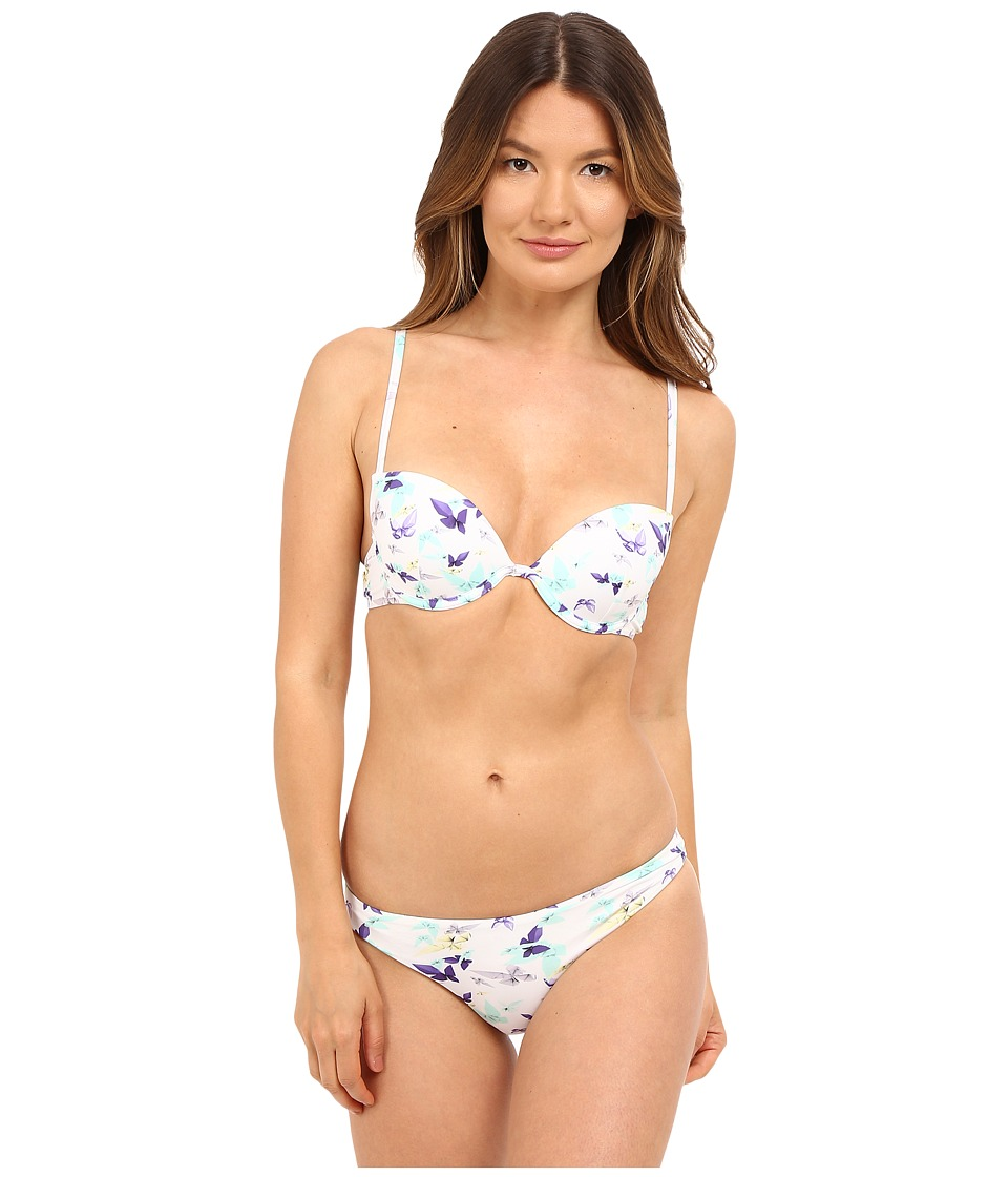Emporio Armani Push-Up Bikini White Swimwear Sets