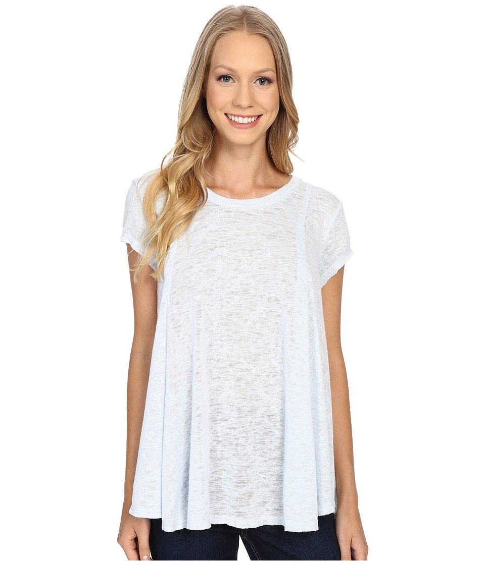 B Collection by Bobeau - Posy Swing Knit T-Shirt (Pale Blue) Women's T Shirt