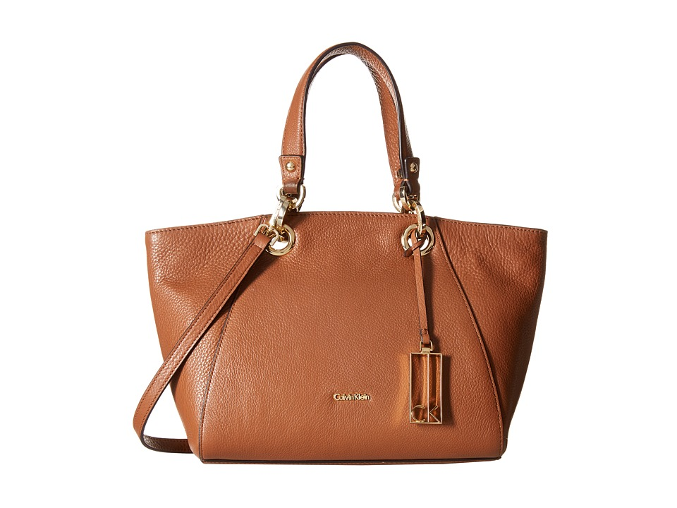 Calvin Klein - Pebble Satchel (Luggage) Satchel Handbags