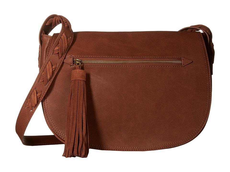 Steve Madden - Bsammie (Cognac) Cross Body Handbags