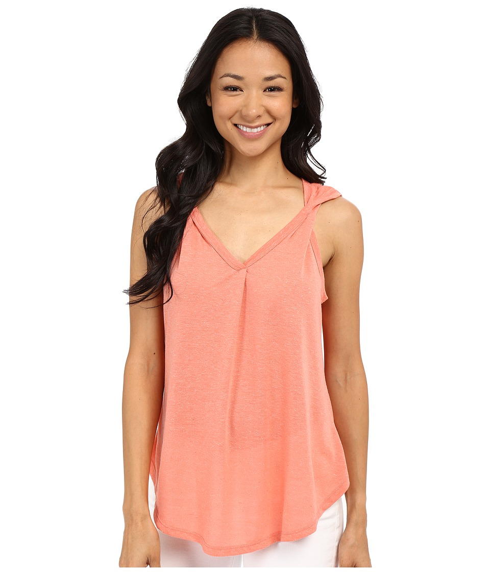 B Collection by Bobeau - Aerin Twist Strap Tank Top (Peach) Women's Sleeveless
