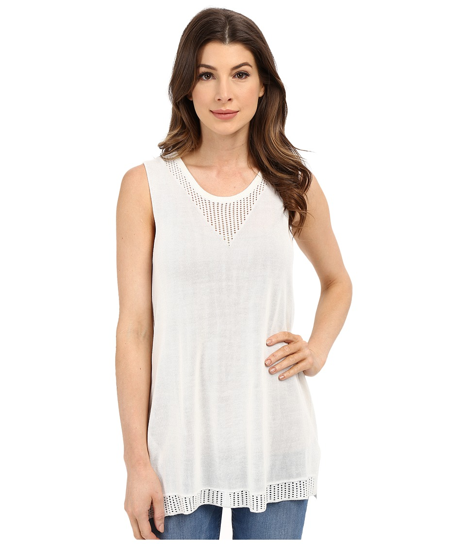 B Collection by Bobeau - Tasha Tank Top (Ivory) Women's Sleeveless