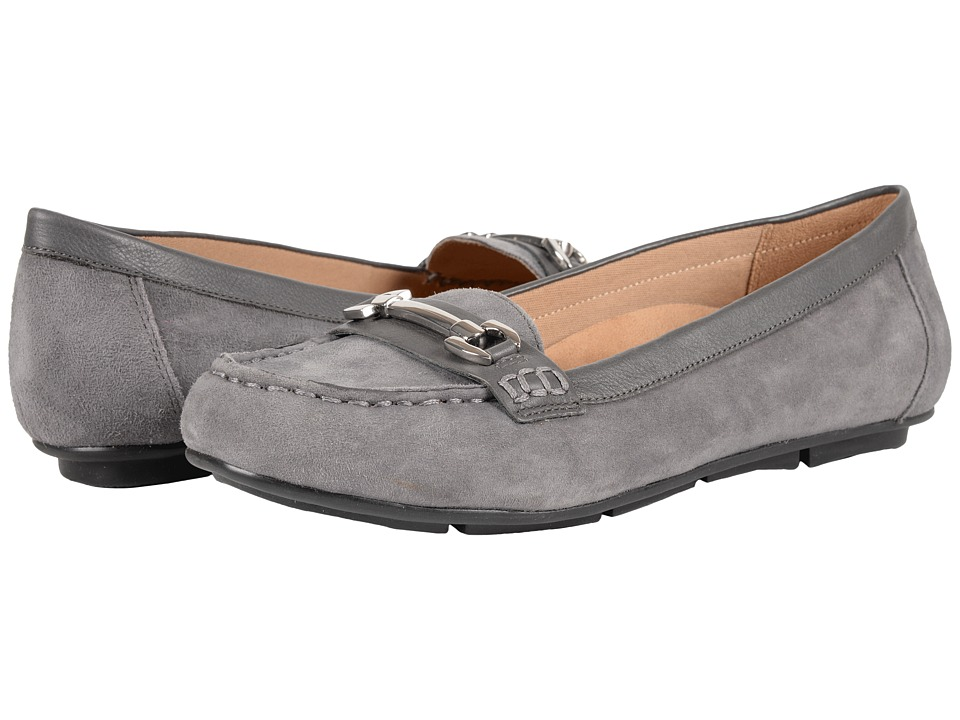 VIONIC - Chill Kenya Loafer (Grey) Women's Slip on Shoes