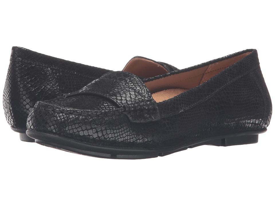 4cbc9aeabbd ... UPC 616542345266 product image for VIONIC - Chill Larrun Loafer (Black  Snake) Women s Flat ...