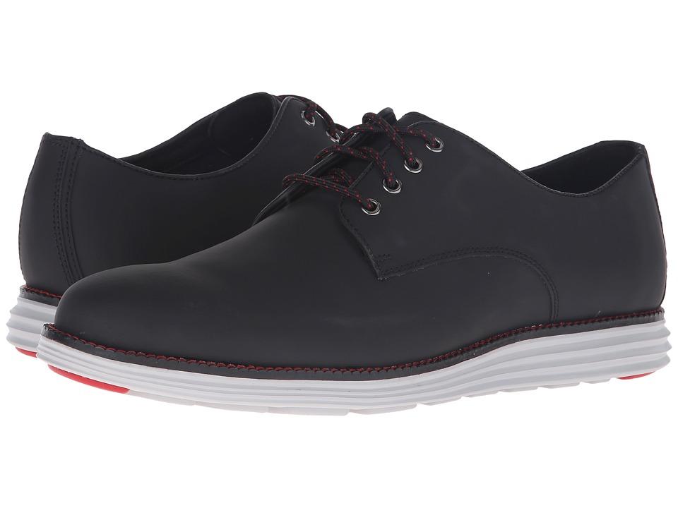 Cole Haan - Original Grand Plain Oxford (Black Matte Leather) Men
