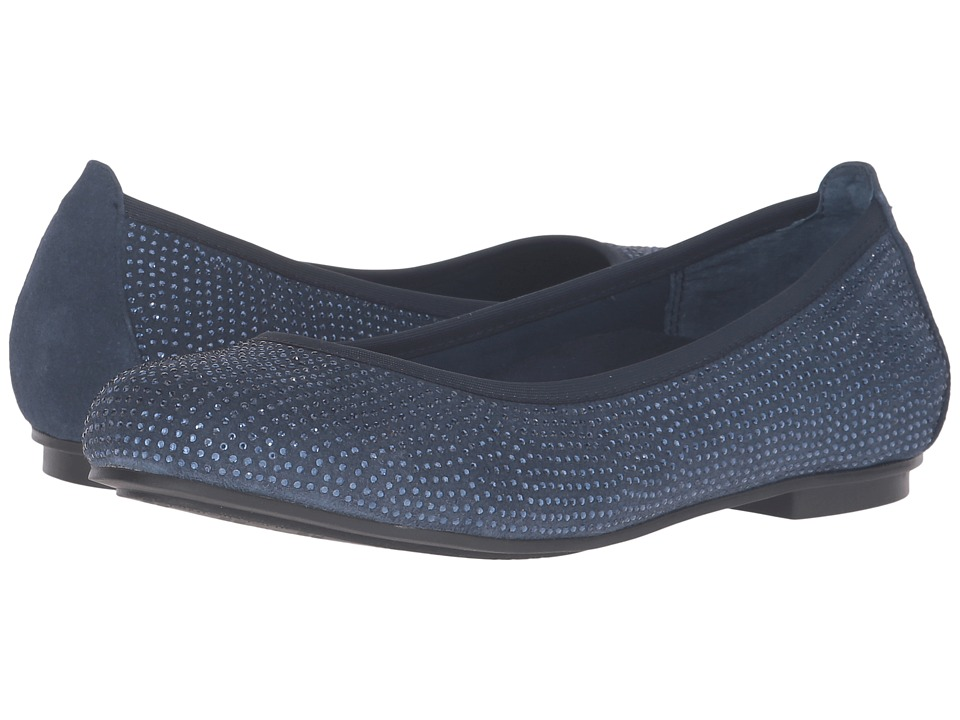 VIONIC - Spark Willow Ballet Flat (Navy) Women's Dress Flat Shoes