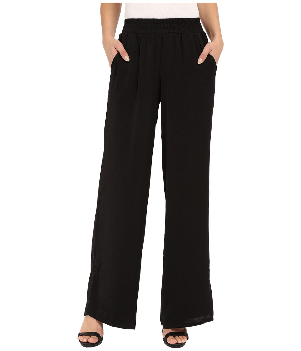 B Collection by Bobeau - Elsa Palazzo Pants (Black) Women's Casual Pants plus size,  plus size fashion plus size appare