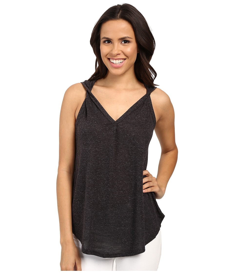 B Collection by Bobeau - Aerin Twist Strap Tank Top (Charcoal Grey) Women's Sleeveless