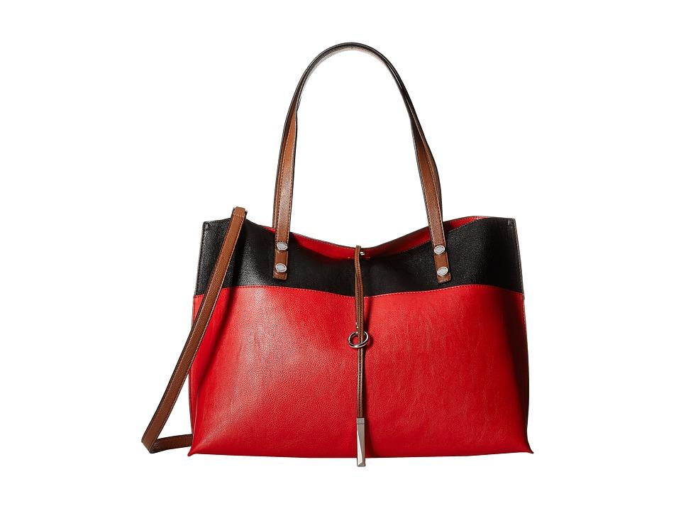 Calvin Klein - Reversible Tote (Poppy Combo) Tote Handbags