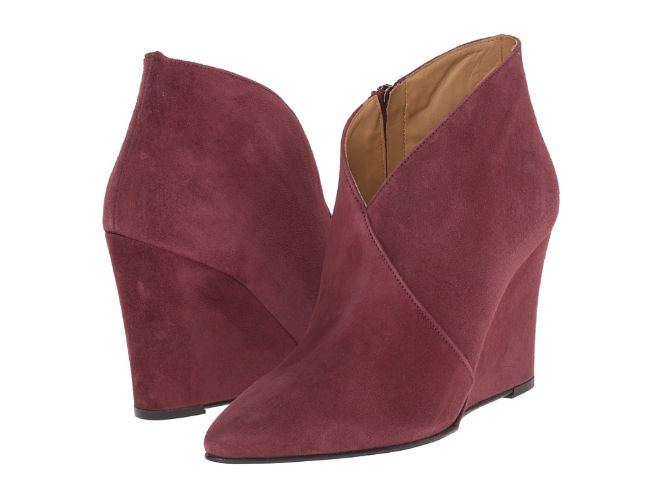 Massimo Matteo - Wedge Bootie (Wine) Women's Boots