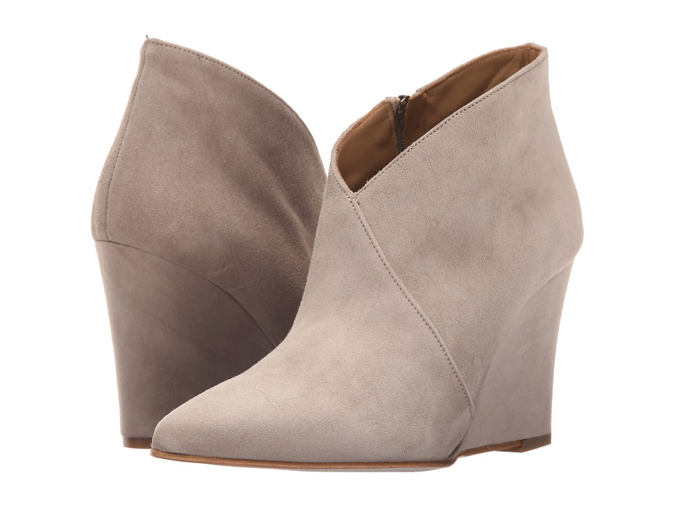 Massimo Matteo - Wedge Bootie (Taupe) Women's Boots