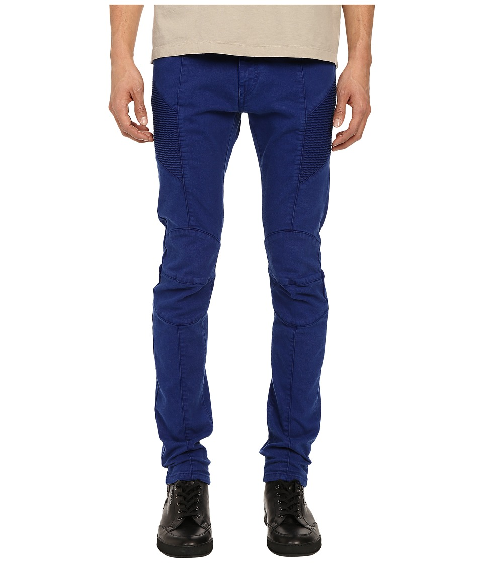 Pierre Balmain - Biker Jeans (Royal Blue) Men