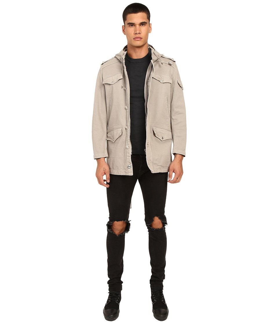 Pierre Balmain - Military Trench (Khaki) Men's Coat