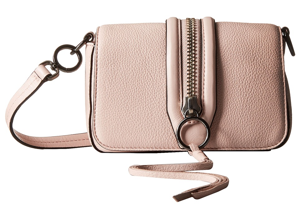 Rebecca Minkoff - Mini Mara Crossbody (Pale Blush) Cross Body Handbags