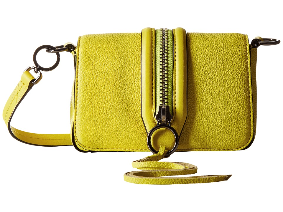 Rebecca Minkoff - Mini Mara Crossbody (Limeade) Cross Body Handbags