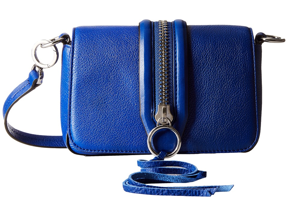 Rebecca Minkoff - Mini Mara Crossbody (Cobalt) Cross Body Handbags