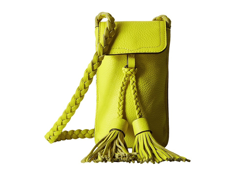 Rebecca Minkoff - Isobel Phone Crossbody (Limeade) Cross Body Handbags