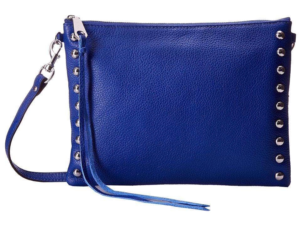 Rebecca Minkoff - Jon Crossbody with Studs (Cobalt) Cross Body Handbags