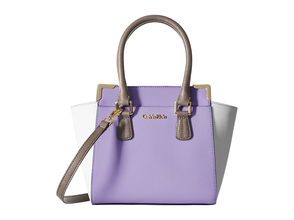 Calvin Klein - On My Corner H3JE12AC (Iris Combo) Satchel Handbags
