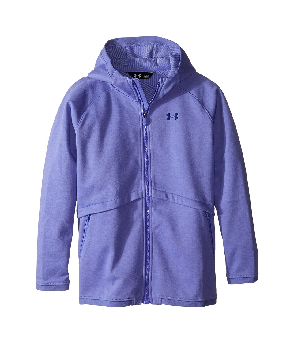 Under Armour Kids - UA CGI Dobson Softshell (Big Kids) (Violet Storm/Violet Storm/Caspian) Girl's Coat
