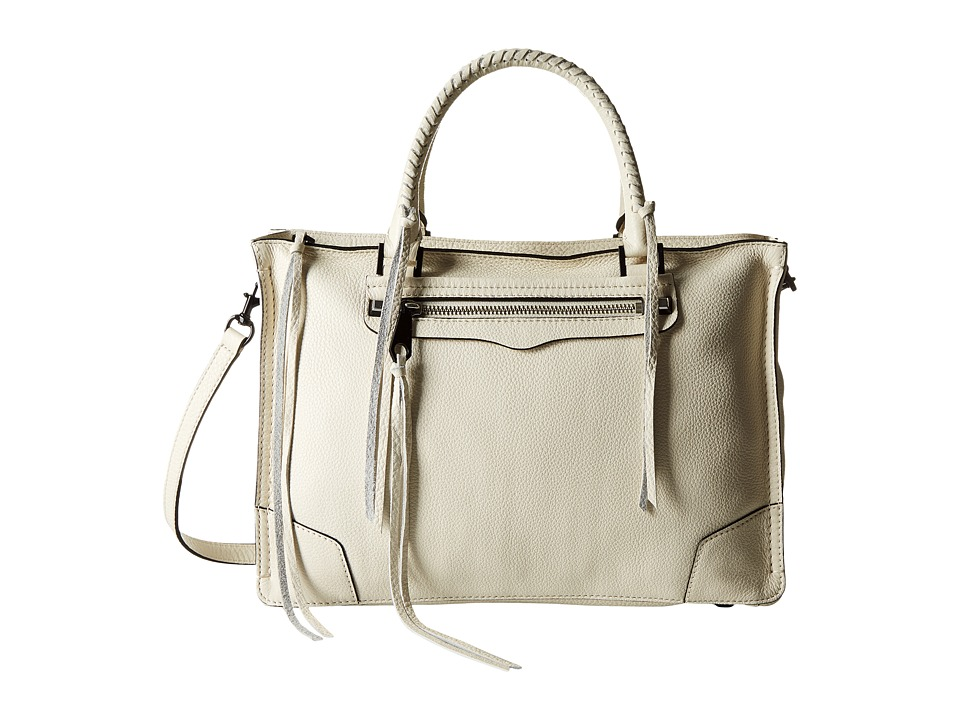 Rebecca Minkoff - Regan Satchel Tote (Antique White) Tote Handbags
