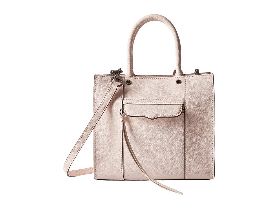Rebecca Minkoff - Mab Tote Mini (Pale Blush) Tote Handbags