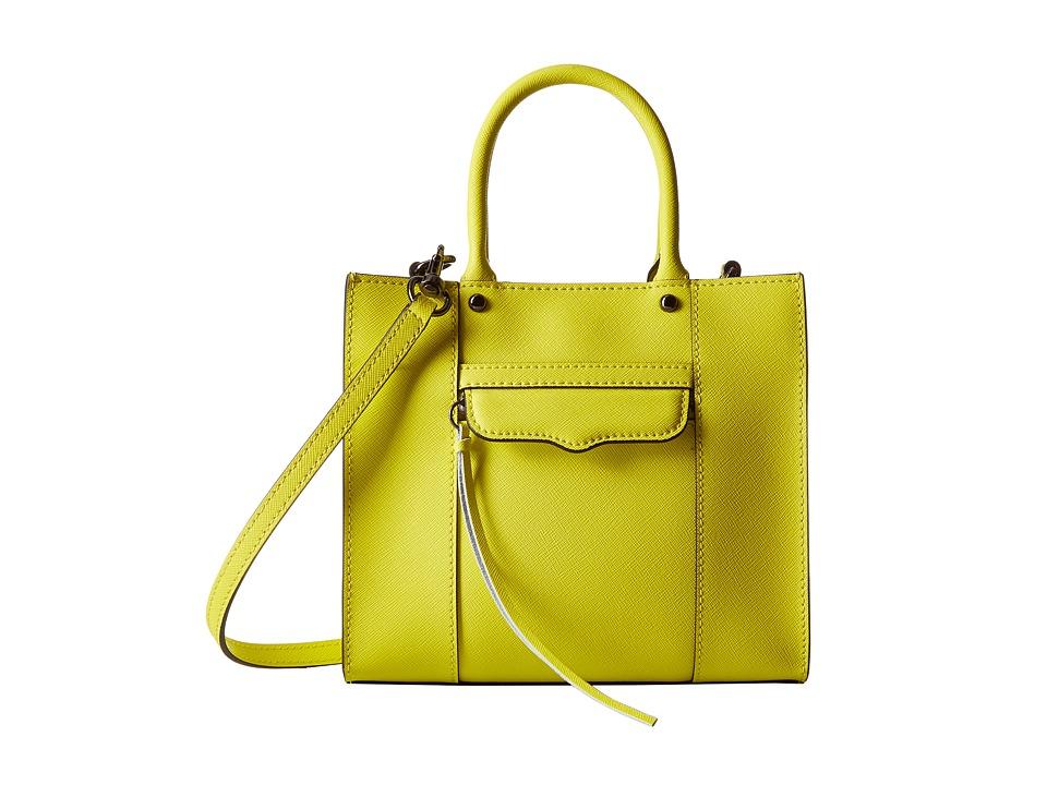 Rebecca Minkoff - Mab Tote Mini (Limeade) Tote Handbags