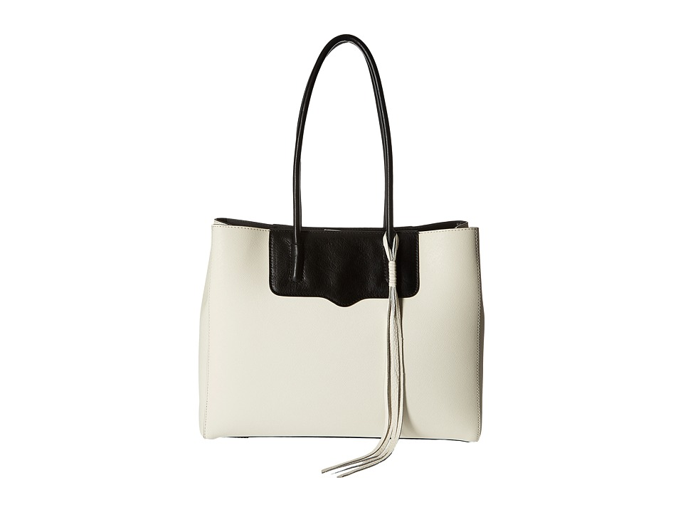 Rebecca Minkoff - Penelope Tote (Antique White/Black) Tote Handbags