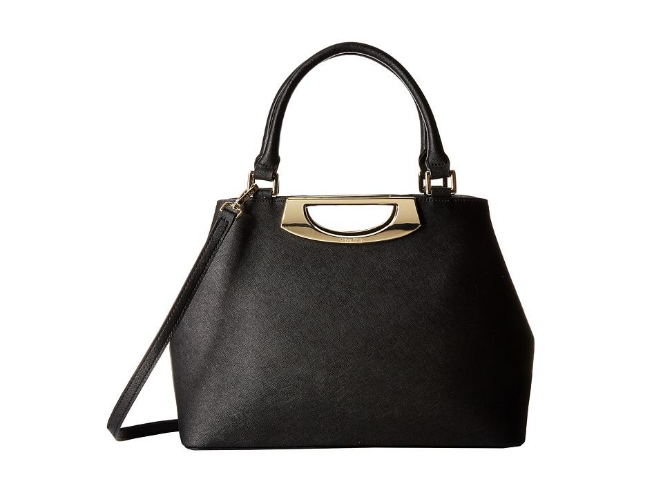 Calvin Klein - Saffiano Shopper (Black/Gold) Tote Handbags