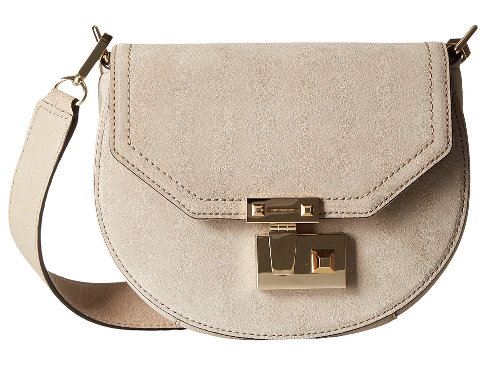 Rebecca Minkoff - Paris Saddle Bag (Khaki) Handbags