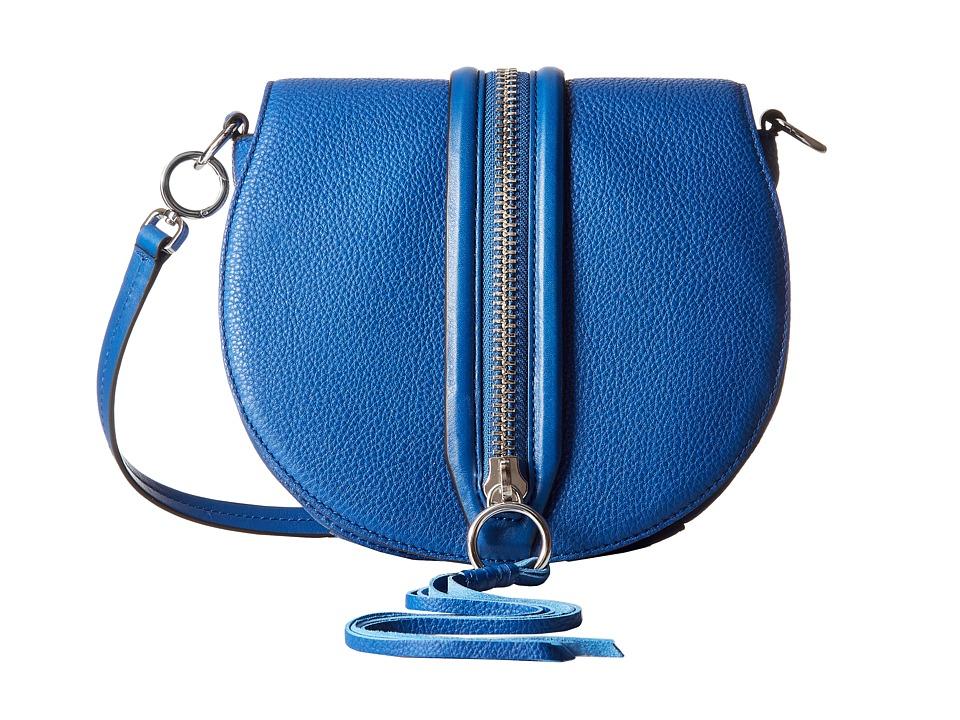 Rebecca Minkoff - Mara Saddle Bag (Cobalt) Handbags
