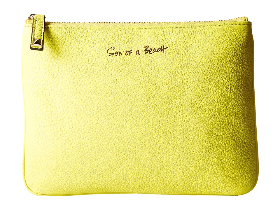 Rebecca Minkoff - Kerry Pouch - Son of a Beach (Limeade) Travel Pouch
