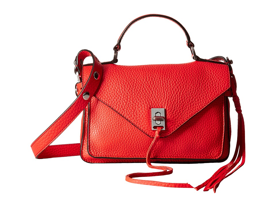 Rebecca Minkoff - Small Darren Messenger (Dragon Fruit) Messenger Bags