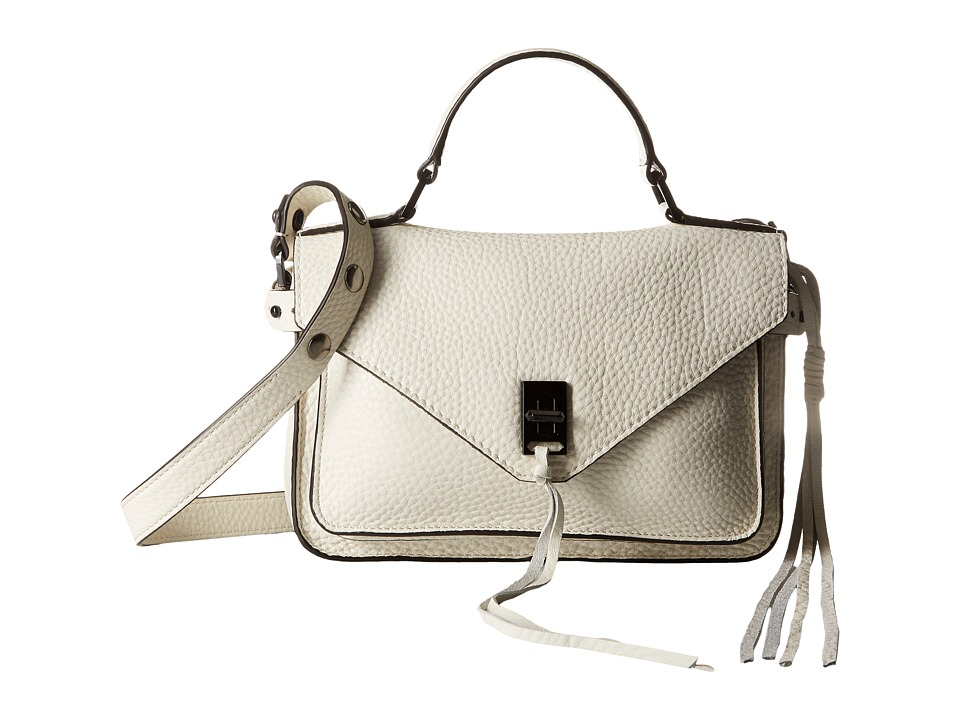 Rebecca Minkoff - Small Darren Messenger (Antique White) Messenger Bags
