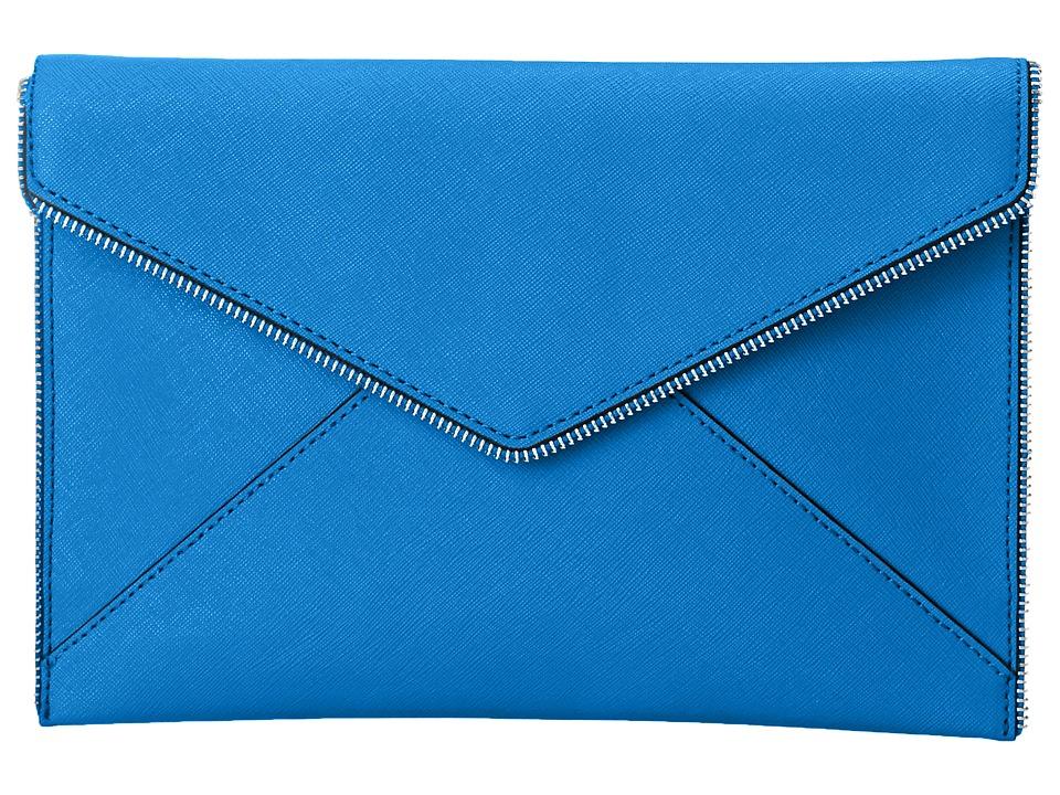Rebecca Minkoff - Leo Clutch (Denim Blue) Clutch Handbags