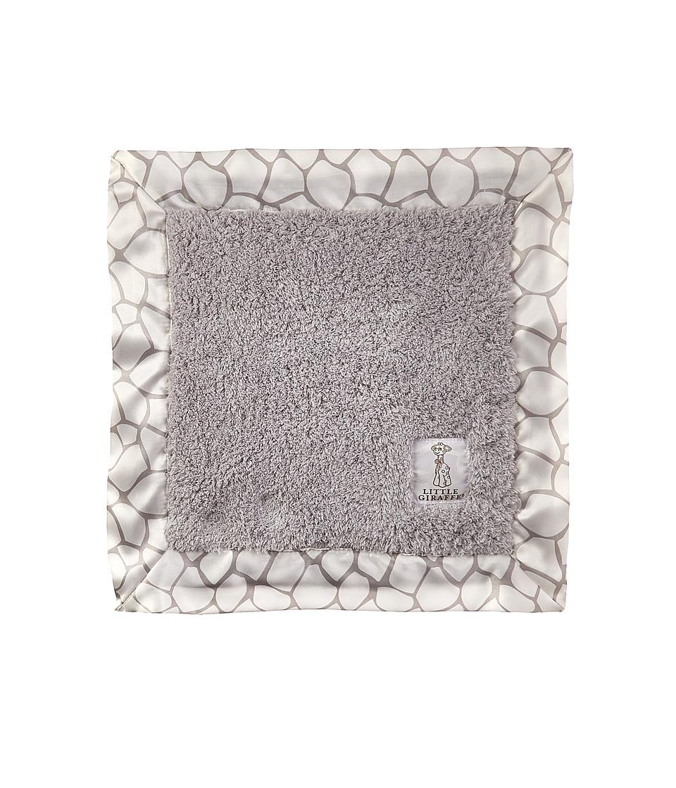 Little Giraffe - Chenille Giraffe Blanky (Silver) Blankets