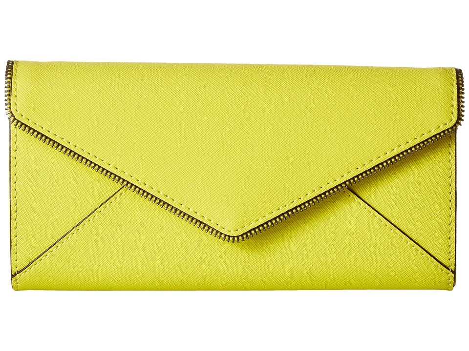 Rebecca Minkoff - Cleo Wallet on a Chain (Limeade) Wallet Handbags