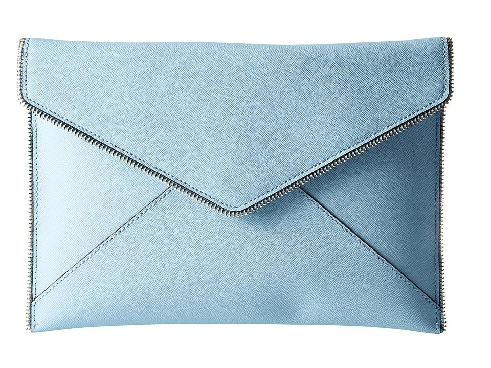 Rebecca Minkoff - Leo Clutch (Sky) Clutch Handbags