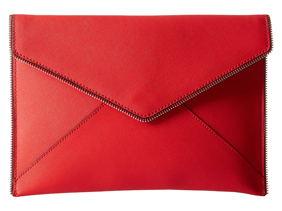Rebecca Minkoff - Leo Clutch (Dragon Fruit) Clutch Handbags