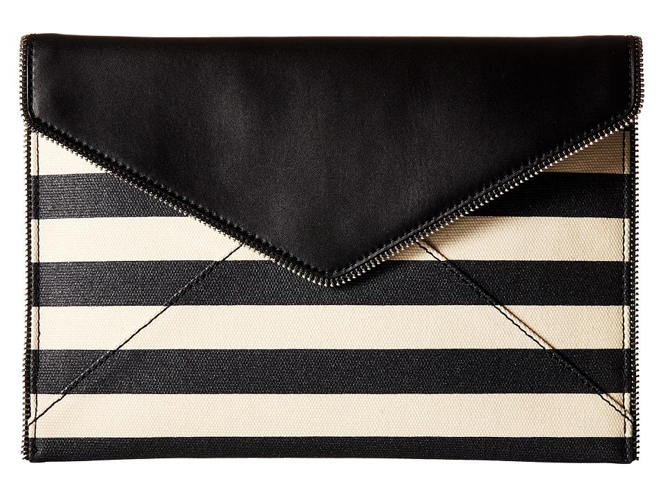 Rebecca Minkoff - Leo Clutch (Black Multi) Clutch Handbags