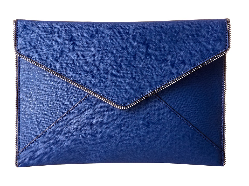 Rebecca Minkoff - Leo Clutch (Cobalt) Clutch Handbags