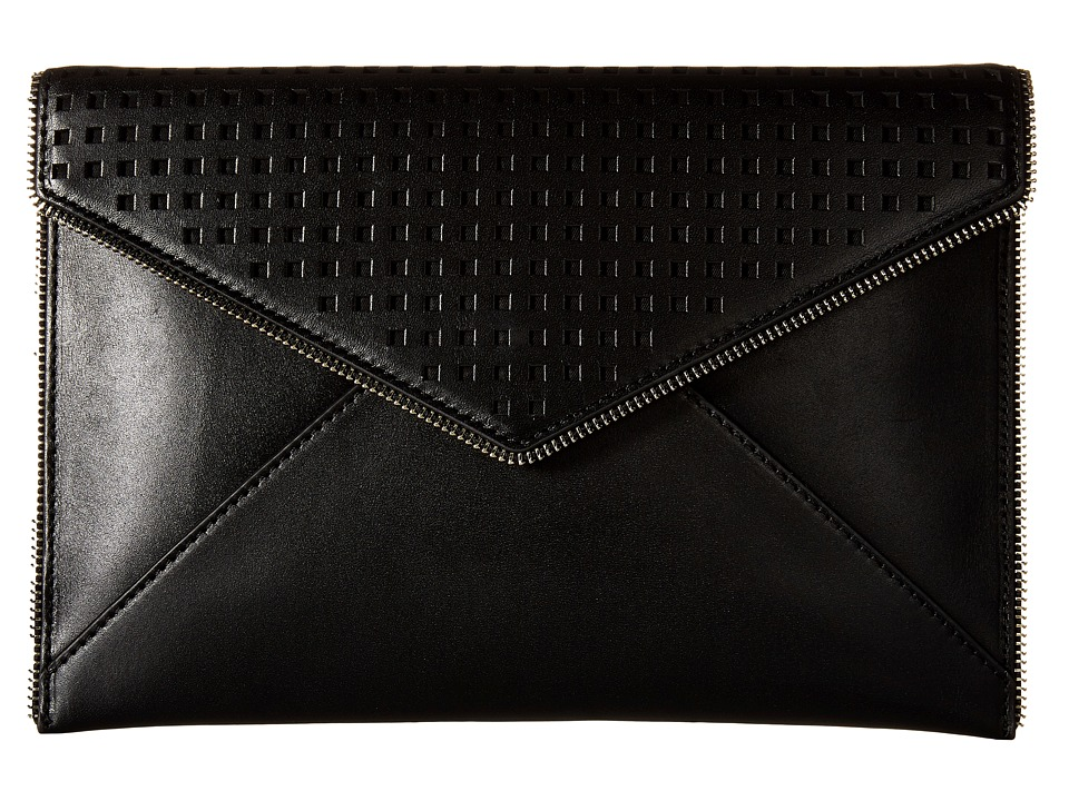 Rebecca Minkoff - Leo Clutch (Black 3) Clutch Handbags
