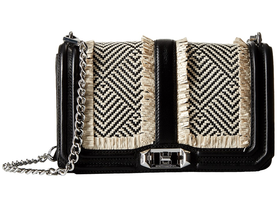 Rebecca Minkoff - Love Crossbody (Black Multi) Cross Body Handbags
