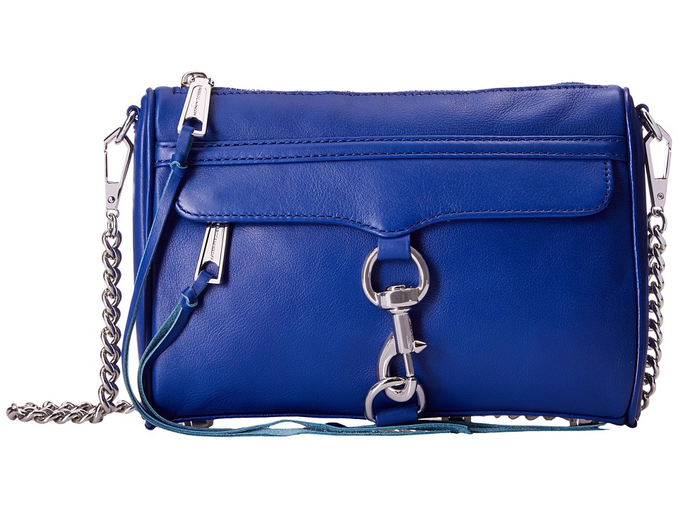 Rebecca Minkoff - Mini Mac (Cobalt) Cross Body Handbags