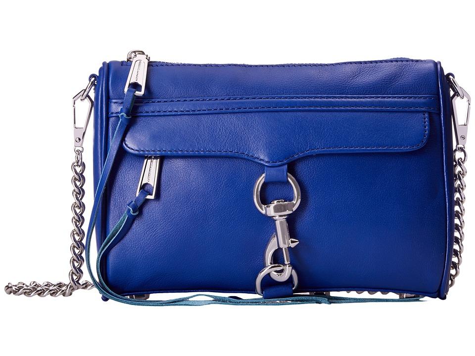 Rebecca Minkoff - Mini Mac (Cobalt) Cross Body Handbags