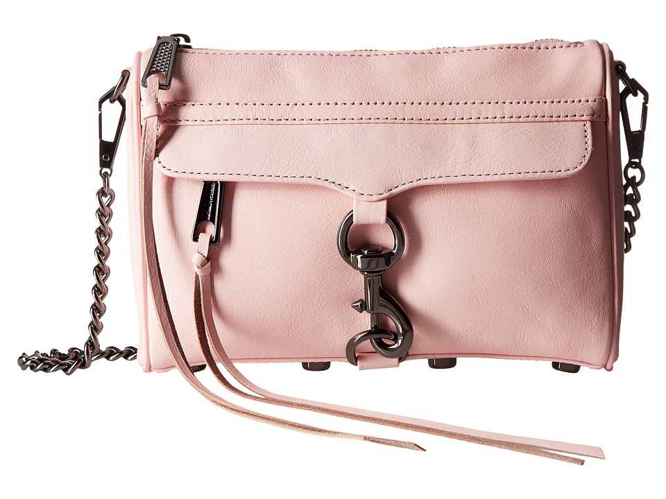 Rebecca Minkoff - Mini Mac (Pale Blush) Cross Body Handbags