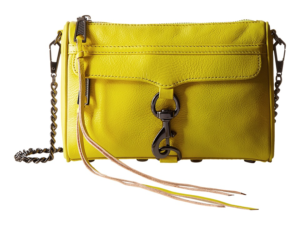 Rebecca Minkoff - Mini Mac (Limeade) Cross Body Handbags