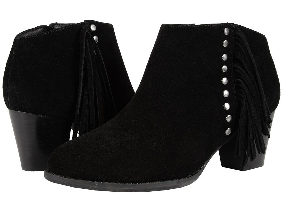 VIONIC Upright Faros Fringe Boot (Black) Women