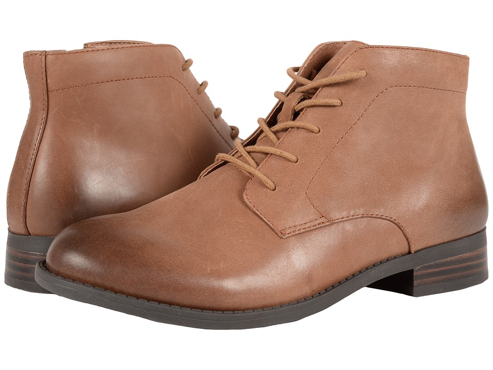 VIONIC - Country Mira Lace-Up (Tan) Women's Lace-up Boots