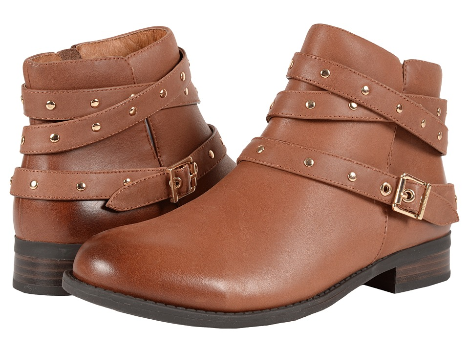 VIONIC Country Lona Ankle Boot (Tan) Women